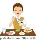 早餐 吃 品嚐 28420634