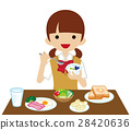 breakfast, eat, eating 28420636