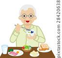 老人 早餐 吃 28420638