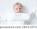 Portrait of cute adorable newborn baby child 28421974