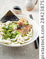 Udon Fish Soup in Bowl 28423875