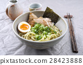 Ramen Fish Soup in Bowl 28423888