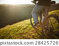 closeup of rear wheel sports bike. race 28425726