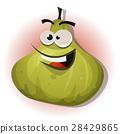 Comic Funny Fig Character 28429865