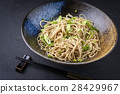 Soba Noodles in Bowl 28429967