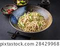 Soba Noodles with Tsukemono 28429968