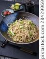 Soba Noodles with Tsukemono 28429969
