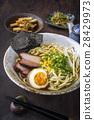 Ramen Yakibuta with Enoki and Egg 28429973