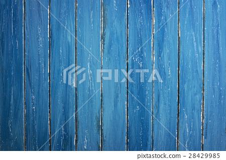 Blue Wooden Background 28429985