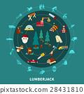 lumberjack, lumber, forest 28431810
