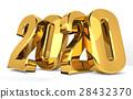 2020 gold 3d render 28432370