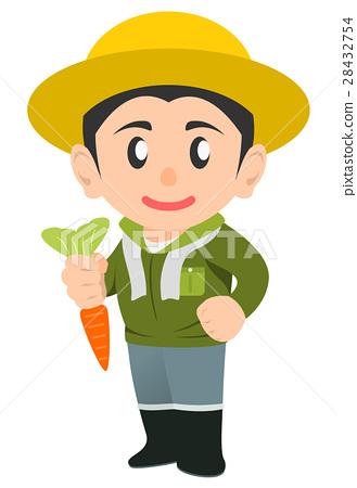 農民 農夫 農舍 28432754