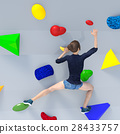 Bouldering image perming3DCG illustration material 28433757