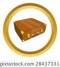 suitcase, icon, vector 28437331