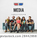 entertainment, glasses, icon 28442868