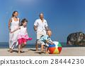 beach, daughter, family 28444230