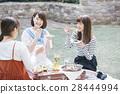 女子 ピクニック 28444994