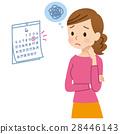 女人的煩惱日曆 28446143