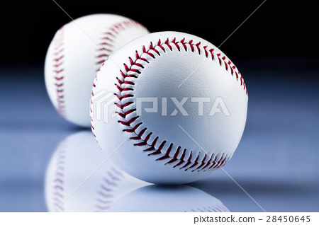 American Baseball. Ball and glove 28450645