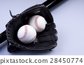 American Baseball. Ball and glove 28450774