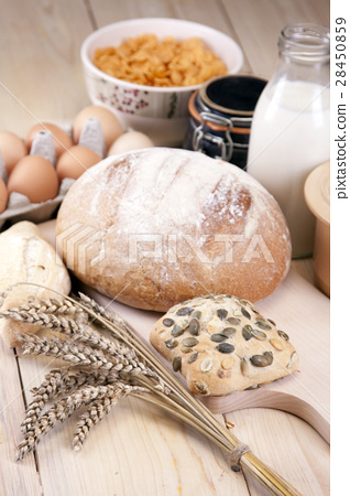 Tasty baked breakfast! 28450859