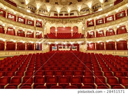 Interior auditorium of the great theater - Opera 28451571