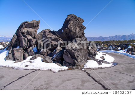 [군마현] 겨울 鬼押出し園 거대한 기암 28452357