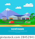 mountains lorry warehouse 28452941