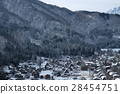 gassho, village, shirakawa-go 28454751