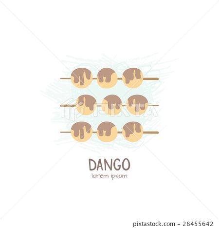 Japanese traditional dessert- Dango. 28455642