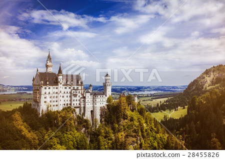 castle germany bavaria alps 28455826