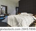 bedroom, bed, design 28457896