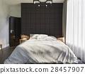 bedroom, bed, design 28457907