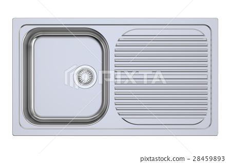 kitchen sink, 3D rendering 28459893