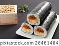 惠方壽司卷 壽司 黃豆 28461484