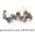 Wild Animals Watercolor 28463362