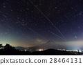 富士山 星空 星星 28464131