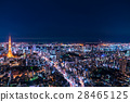 city, town, night scape 28465125