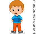 cute boy cartoon 28468603