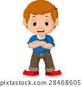 cute boy cartoon 28468605