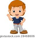cute boy cartoon 28468606