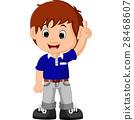 cute boy cartoon 28468607