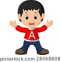 cute boy cartoon 28468608