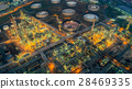 Land scape of Oil refinery plant  28469335