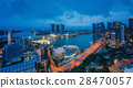 Cityscape of Singapore and Marina bay sand 28470057