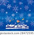 크리스마스, 순록, 산타 28472595