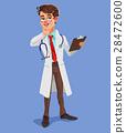 Vector 3d doctor 28472600