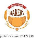 croissant, vector, wheat 28472999