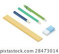 stationery, set, vector 28473014