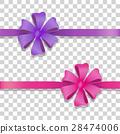 bow ribbon vector 28474006